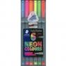 Cienkopis Triplus Fineliner 0,3 mm Neon Colours - 6 kolorów (334-SB6CS3)