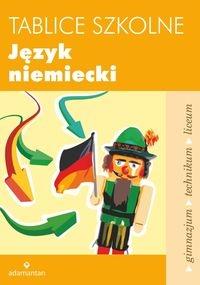 Tablice szkolne Język niemiecki Czauderna Maciej, Gross Robert