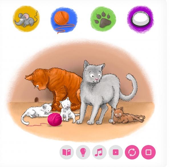 Czytaj z Albikiem. Domowe zwierzęta. Interaktywna mówiąca książeczka (34544) praca zbiorowa