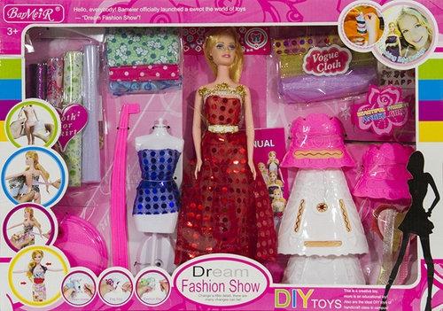 Lalka Kreatorka Mody salon projektowania sukni
