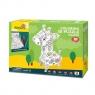 Puzzle 3D - żyrafa do kolorowania Wiek: 5+