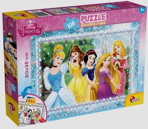 Puzzle dwustronne 108 Księżniczki (304-47963)