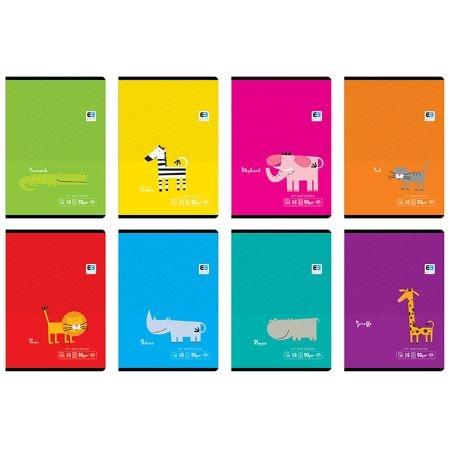 Zeszyt A5/16k w kolorowe linie - B&B Kids (311052)