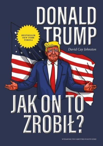 Donald Trump (Uszkodzona okładka) Johnston David Cay