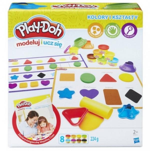 PlayDoh Kolory i kształty (B3404P)