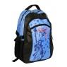 Plecak młodzieżowy City of NY czarno-niebieski