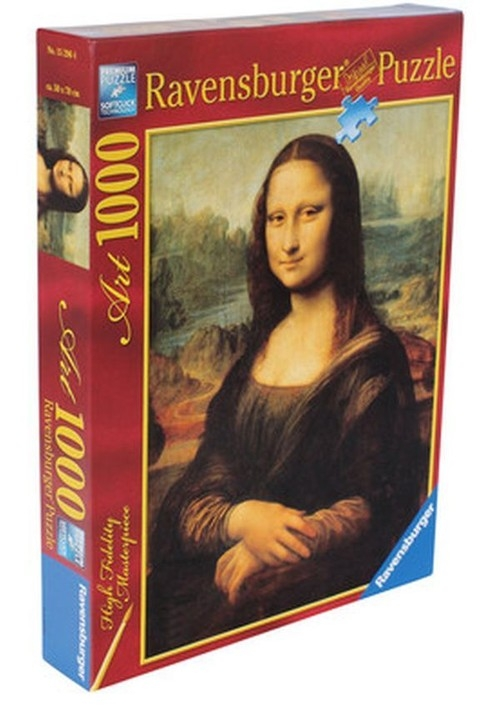 Puzzle 1000: Da Vinci Mona Lisa (RAP152964)