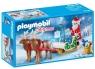 Playmobil Christmas: Sanie świętego Mikołaja z reniferami (9496)