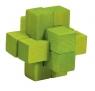 IQ-Test 3D Puzzle Krzyż zielony