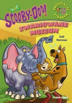 ScoobyDoo! Zwariowane muzeum. Poczytaj ze Scoobym Gail Herman