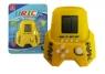 Tetris - Gra w kształcie żółtej rakiety