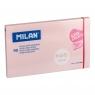Karteczki samoprzylepne różowe MILAN SUPER STICKY PASTEL, 127 x 76 mm, 90k.