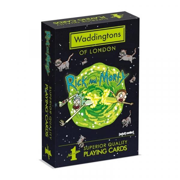 Karty Waddingtons Rick&Morty (35965)