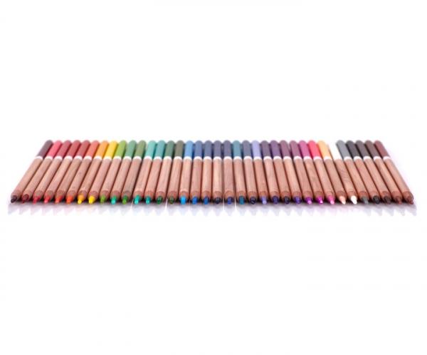 Kredki ołówkowe w metalowym pudełku Astra Prestige, 36 kolorów (312117003)