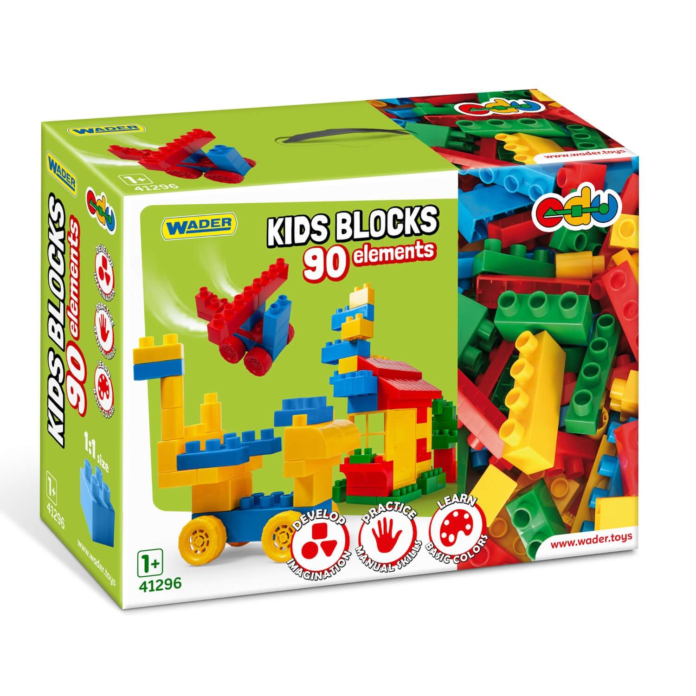 Kids Blocks klocki - 90 elementów (41296)