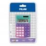 Kalkulator kiesznokowy Milan Sunset - zielono-fioletowo-różowy (151008SNPRBL)