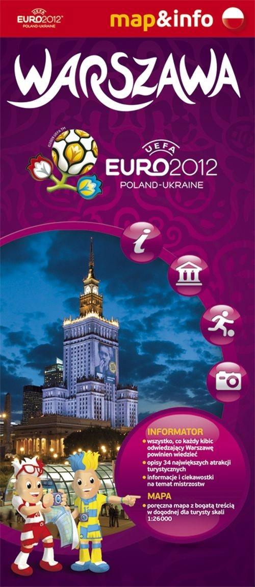 Warszawa Euro 2012 mapa i miniprzewodnik Augustyniak Urszula, Rogalska Marta
