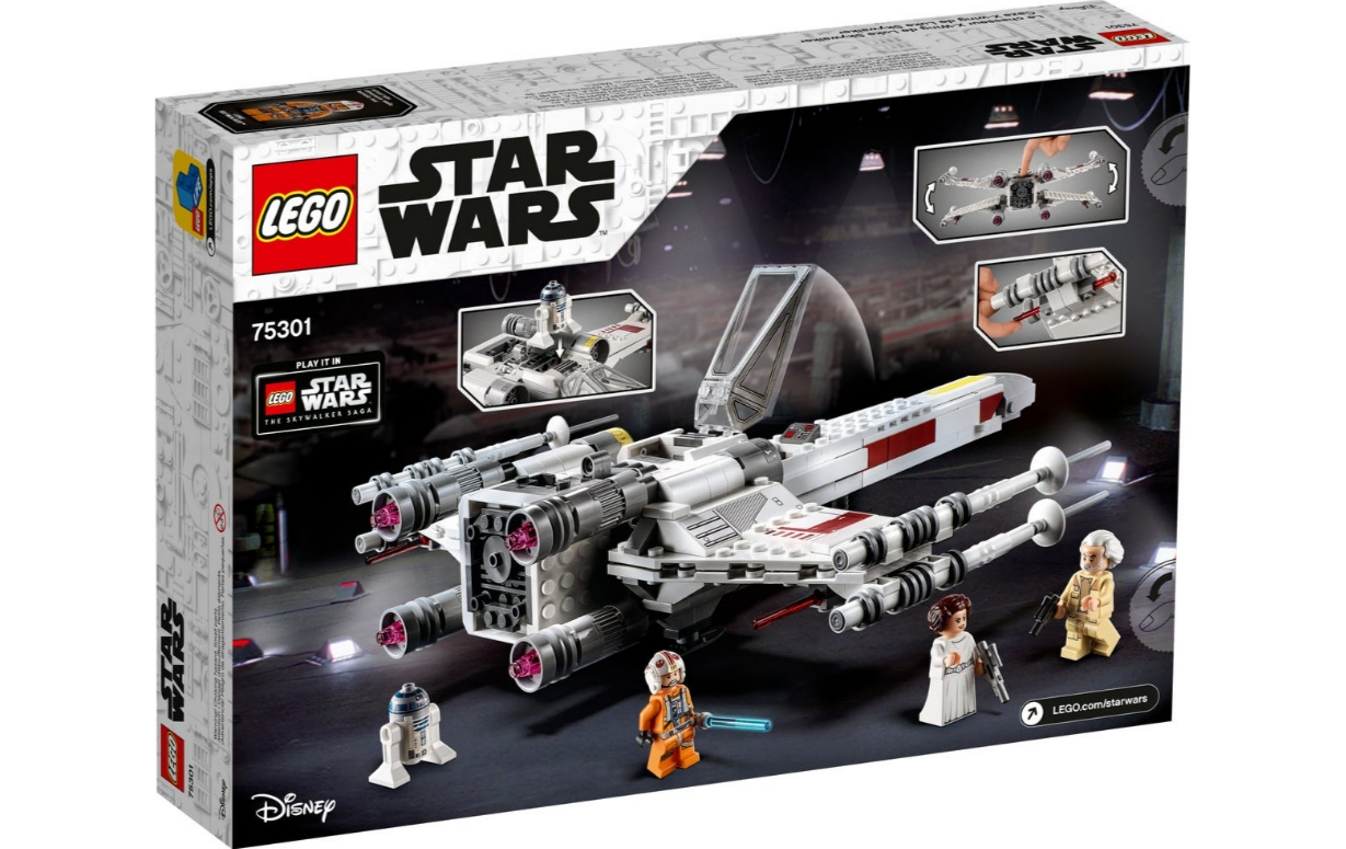 Lego Star Wars: Myśliwiec X-Wing™ Luke'a Skywalkera (75301)