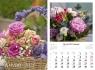 Kalendarz planszowy 2021 - Kwiaty 13
