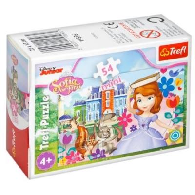 Puzzle mini 54: Magiczny świat księżniczki 2 TREFL