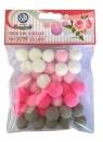 Pompony dekoracyjne Różany ogród (335121024)