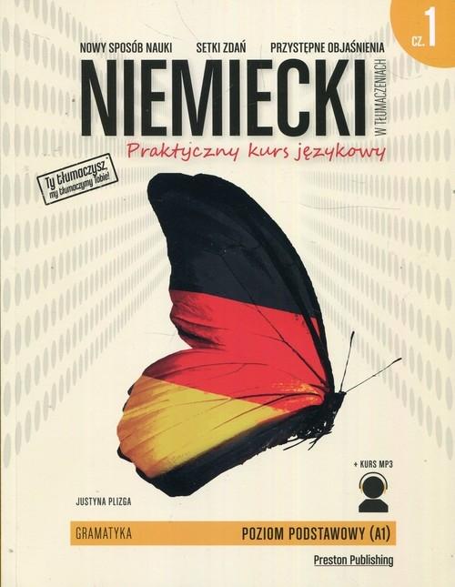 Niemiecki w tłumaczeniach Gramatyka 1 Plizga Justyna