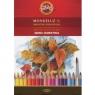 Kredki akwarelowe Mondeluz 3719, 36 kolorów (16726)