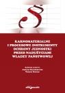 Karnomaterialne i procesowe instrumenty ochrony jednostki przed nadużyciami władzy państwowej
