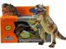 Chodzący dinozaur na baterie światła