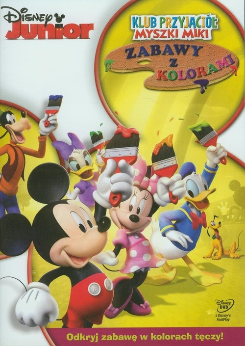 Disney Junior Klub Przyjaciół Myszki Miki Zabawy z kolorami