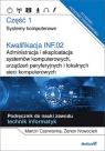 Kwalifikacja INF.02. Część 1 Administracja i eksploatacja systemów komputerowych, urządzeń peryferyjnych