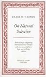 On Natural Selection Darwin Charles