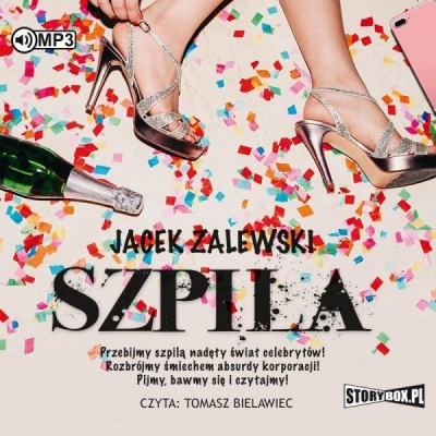 Szpila audiobook Jacek Zalewski