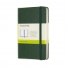 Notes Classic 9x14 tw. kropki myrtle green