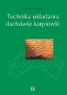 Technika układania dachówki karpiówki Wartmann Herbert