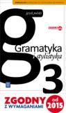 Gramatyka i stylistyka podręcznik dla 3 klasy gimnazjum