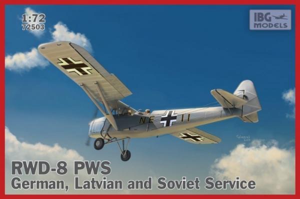 RWD-8 PWS German, Latvian and Soviet Service (72503)