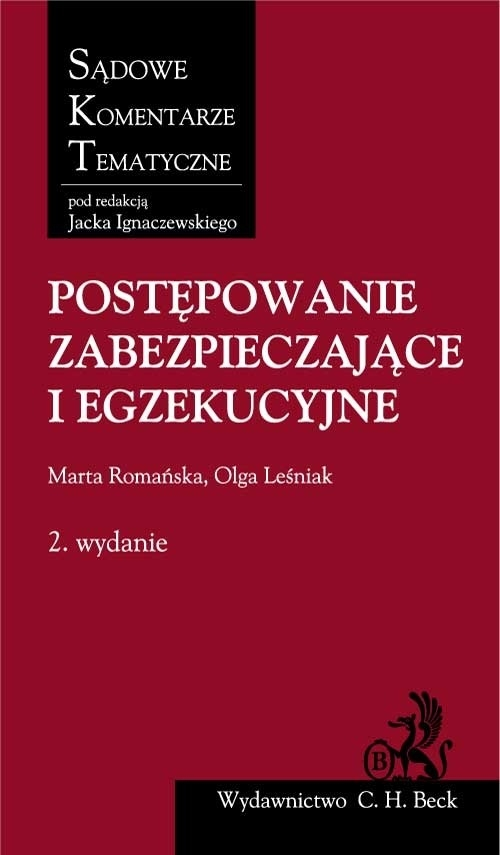 Postępowanie zabezpieczające i egzekucyjne Romańska Marta, Leśniak Olga