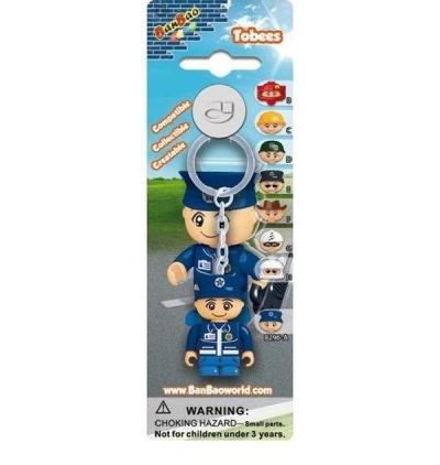 Breloczek - figurka BanBao Policjant