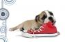 Mata na biurko z nadrukiem pies z butem 0318-0048-86 Panta Plast