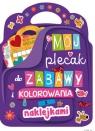 Mój plecak do zabawy i kolorowania z naklejkami praca zbiorowa