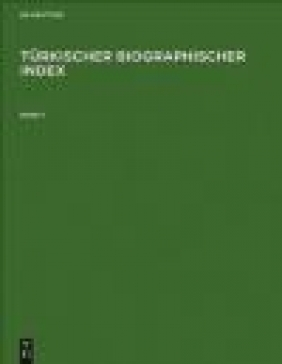 Turkischer Biographischer Index 3 vols