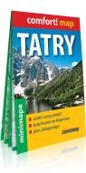Tatry i Zakopane mini laminowana mapa turystyczna