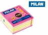 Karteczki fluo mix Milan kostka 76 x 76 mm 400 sztuk415508400