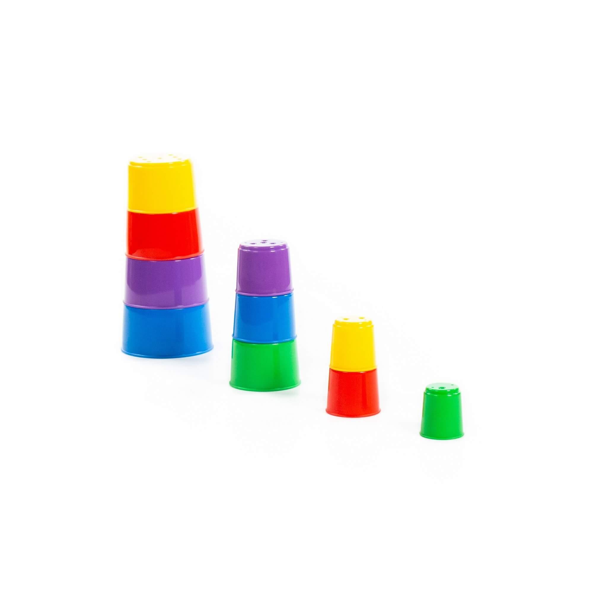 Ciekawa piramidka - 10 elementów (35967)