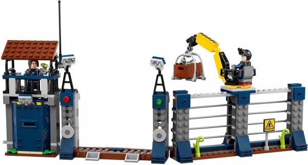 Lego Jurassic World: Atak dilofozaura na posterunek (75931)