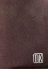 Kalendarz 2017 TIK kieszonkowy brązowy metaliczny
