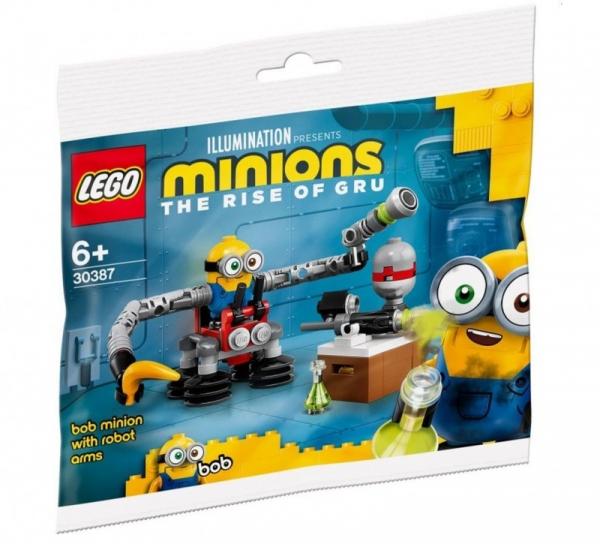Klocki Minions 30387 Bob z ramionami robota (30387)