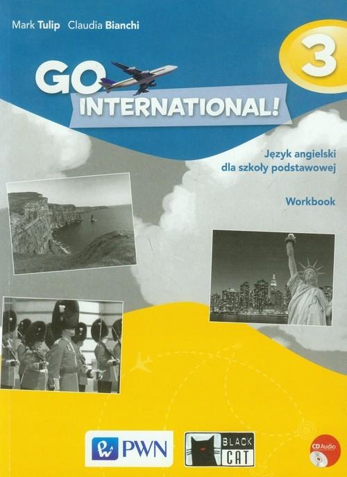 Go International! 3 Zeszyt ćwiczeń z płytą CD Tulip Mark, Bianchi Claudia