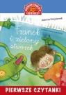 Pierwsze czytanki Franek i zielony stworek